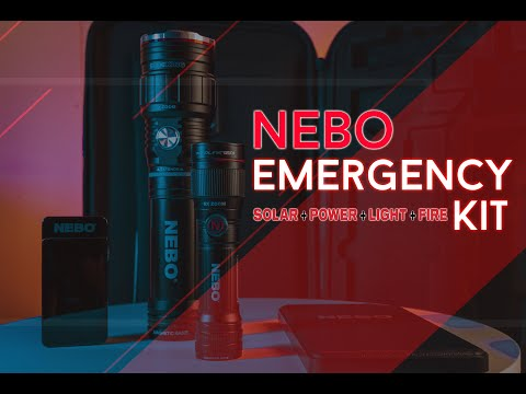 Nebo Emergency Kit Unboxing (ESPAÑOL)