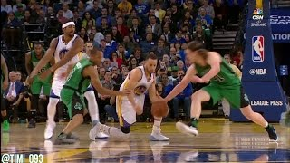 Boston Celtics Defensive Highlights vs Golden State Warriors (03/08/2017)