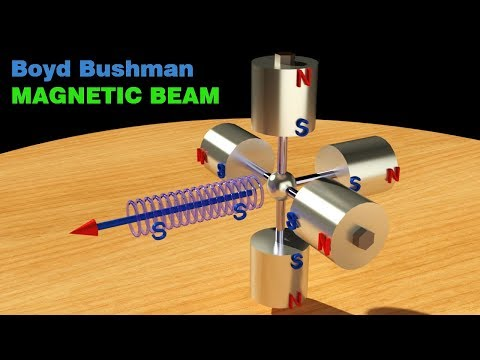 FREE ENERGY, Boyd Bushman Magnetic Beam, SOLUTION for Magnetic Motor!!!!