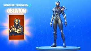 Fortnite - Buying *NEW* Oblivion Skin + Showcase! (Fortnite New Leaked Skin!)