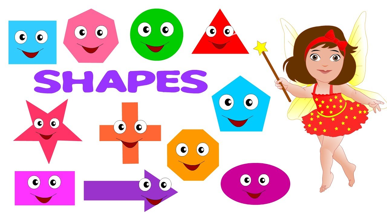 learn shaps with image and splling for nursery youtube