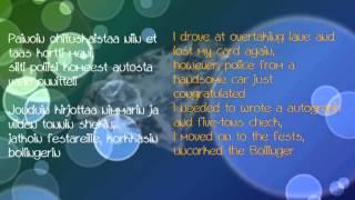 Cheek - Timantit On Ikuisia (Lyrics & English Subs)