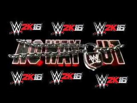 WWE 2K16 - No Way Out 2016 Highlights *HD* streaming vf
