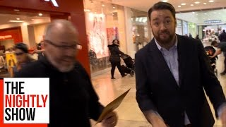 Jason Manford Pranks the Public in a Shopping Mall