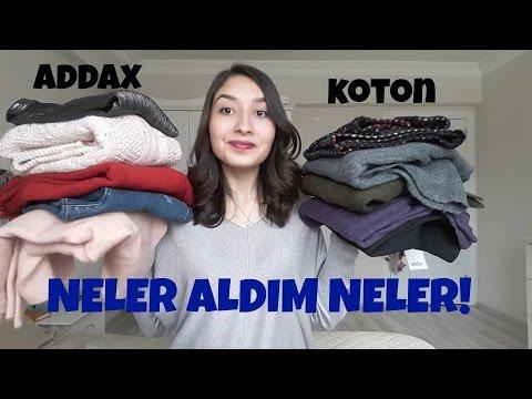 DENEMELİ ALIŞVERİŞ || KOZMETİK,KOTON,ADDAX...