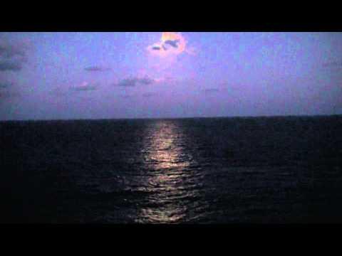 Ts Eve Sailing the Caribbean  Sea