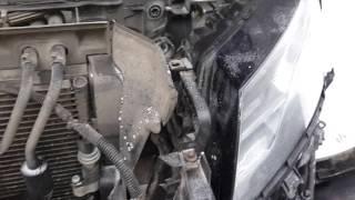 Xenon headlights hamda Audi Q5 olib tashlash.CH1: headlamp Majlis
