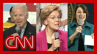 Gambar cover Democratic candidates react to Iowa caucus confusion