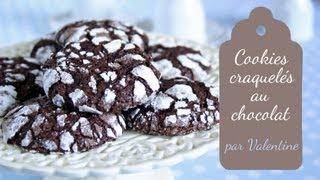 Cookies craquelés au chocolat (Crinkles)