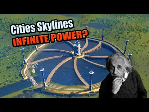 INFINITE POWER: Breaking The Laws of Physics in Cities Skylines