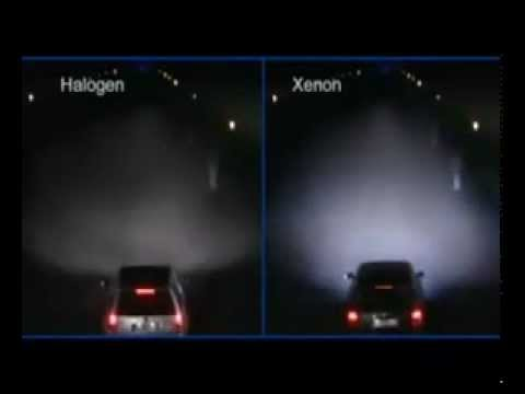 Xenon Hid Light Sample 8000k Light Blue Youtube