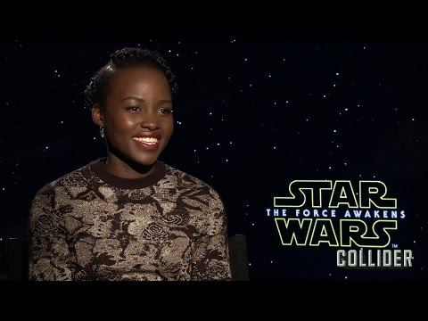 Lupita Nyong'o on 'Star Wars: The Force Awakens' and Whether Han Shot First