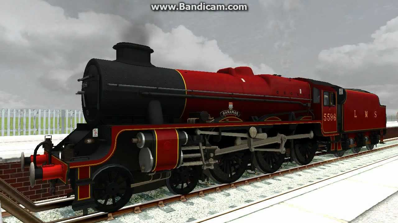 Train Simulator 2013 LMS Jubilee No5596 Bahamas YouTube
