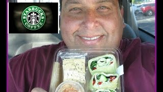 Starbucks® New Edamame Hummus Wrap Review!