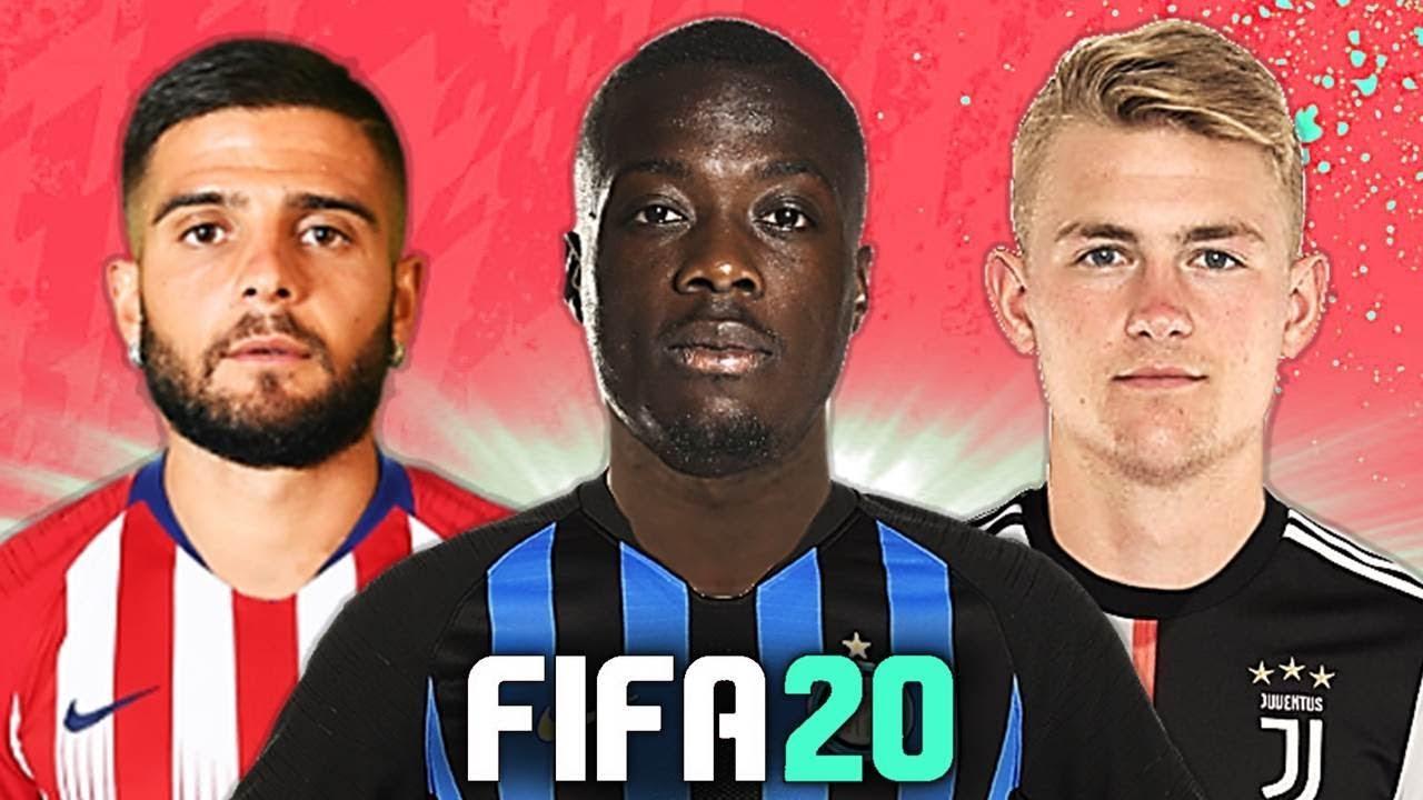 INTER: 90 MLN PER PÉPÉ!! ???? TOP 10 TRASFERIMENTI FIFA 20 - ESTATE 2019 | Insigne, De Ligt, De Ross