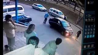 """Сотрудник """"Правого Сектора"""" похищает человека ч.2"""