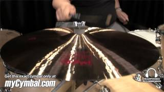 "Paiste 22"" 2002 Ride Cymbal - Played by Abe Laboriel Jr. (1069922-1052413E)"
