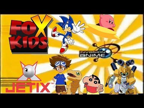 Fox Kids/Jetix: Series De La Infancia Parte 2 (Invasión Anime) (2000-2005)