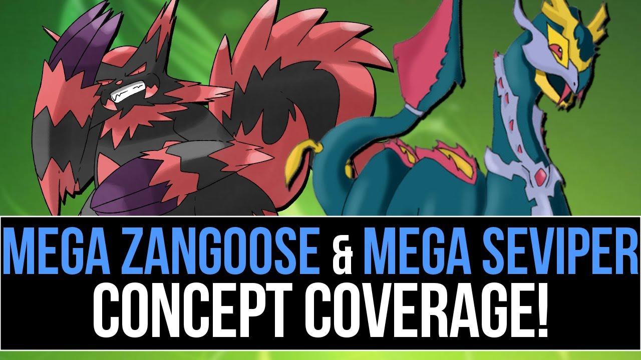 Mega Seviper & Mega Zangoose Concept Coverage (Pokémon ... Wailord Pokemon