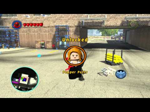 how to unlock ant man in lego marvel superheroes