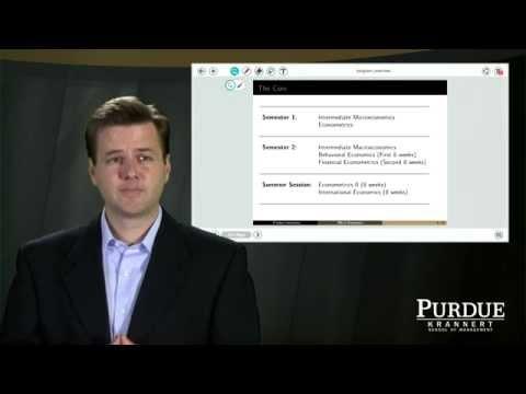 Justin Tobias overviews the Online / Hybrid MS Program in Economics