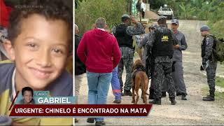 Caso Gabriel: polícia utiliza cães farejadores para encontrar a criança