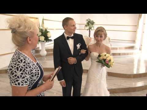 Регистрация в новом Дворце бракосочетания г Тулы