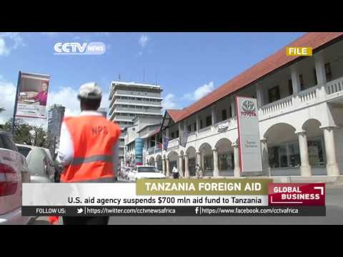 US aid agency suspends aid funds to Tanzania