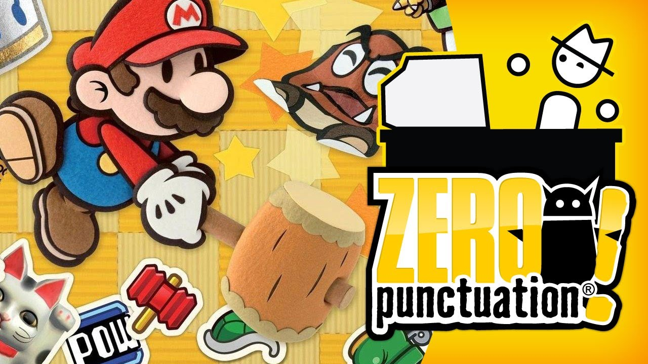 Papercraft PAPER MARIO STICKER STAR (Zero Punctuation)
