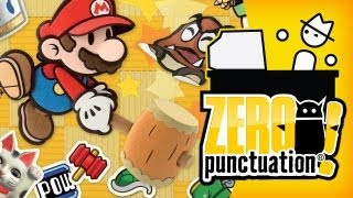 PAPER MARIO STICKER STAR (Zero Punctuation) (Video Game Video Review)
