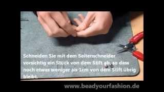 Schmuck herstellen - Mini DIY Projekt 2: Funkelnde Ohrringe herstellen Thumbnail