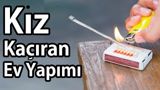 Ev yapımı kız kaçıran! (Super Slow Motion) (How to make a little rocket with matches)  ENG SBT