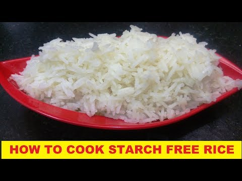 HOW TO COOK STARCH FREE RICE|| NON STICKY PERFECT RICE AT HOME||EASY AND QUICK