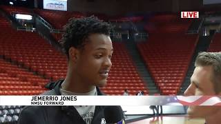 Eric OBrien LIVE postgame: NMSU Jemerrio Jones