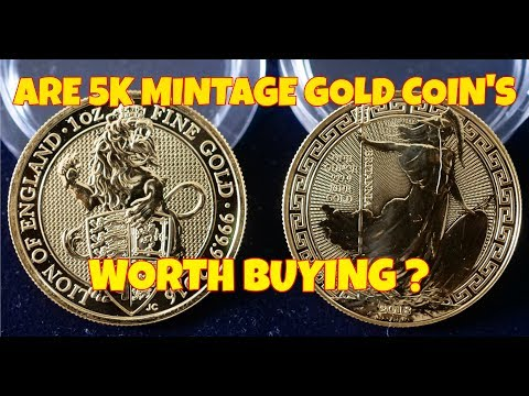 Are 5K Mintage Gold Coins Worth Buying ?