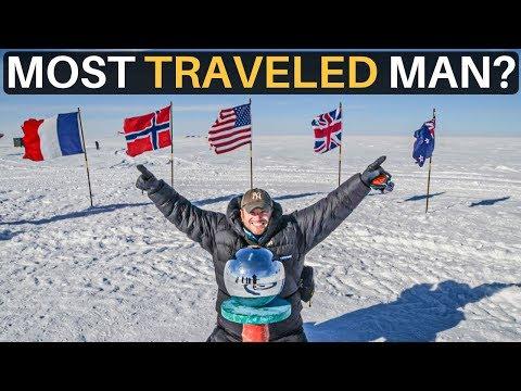 World's MOST TRAVELED MAN? (Lee Abbamonte)