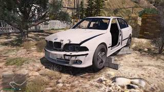 Покупаю свою первую машину! заброшенную гнилую bmw - реальная жизнь гта 5 моды gta 5