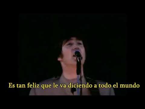 The Beatles - I feel fine subtitulada español (Live At Shea Stadium 1965)