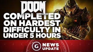 Doom Ultra Nightmare Mode Beaten in 5 Hrs. - GS News Update