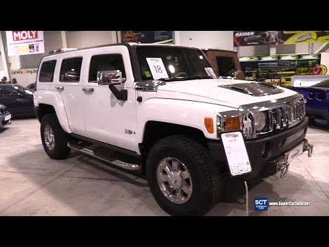 2005 Hummer H3 First Generation  - Exterior and Interior Walkaround - Tuning Show 2016 Sofia