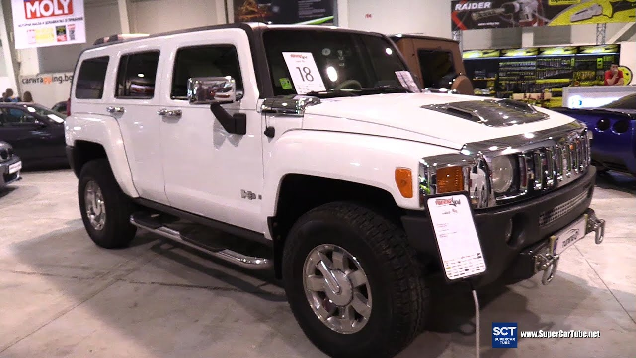 2005 Hummer H3 First Generation Exterior And Interior Walkaround