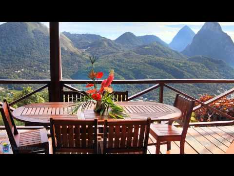 Ti Soleil St. Lucia - Home Rental Overlooking Pitons