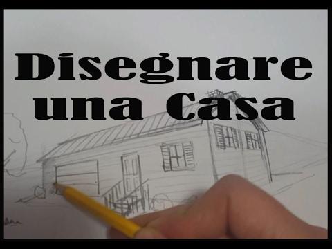 imparare a disegnare una casa a matita youtube