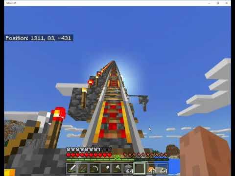 Minecraft Bedrock S01E008 - Rail system to 2nd Village