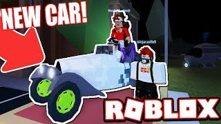 RACING & FLYING THE NEW CLASSIC CAR!!! (Roblox Jailbreak)