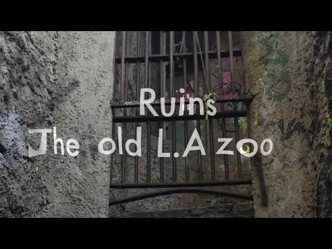 Old Los Angeles zoo : Ruins 2017