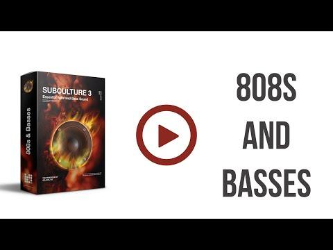 SUB CULTURE 3 Deal + 808 Tools + 808 eBook