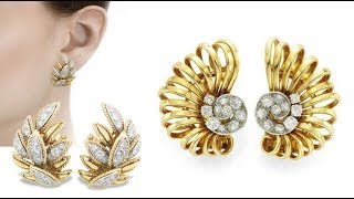 Gold earrings designs || Latest classy and beautiful gold earring designs || gold Jhumka Designs