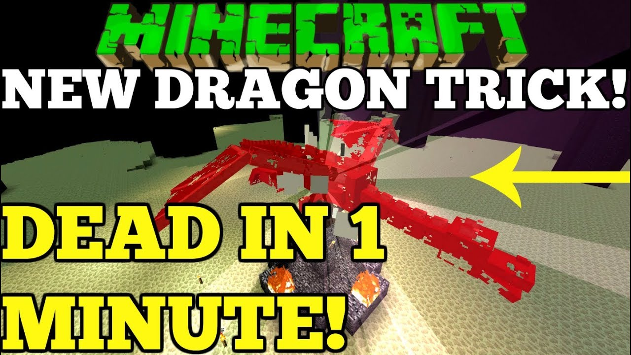 (Broken) Minecraft Fastest Easiest Way to kill The Ender Dragon Simple Better Together Tutorial