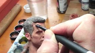 Painting a 1/6 Captain Kirk - Entire process - Part 2